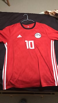 red and white Adidas crew-neck shirt Ottawa, K4A 4Z4