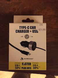 Type-c Car Charger + USB Calgary, T2A 3E6
