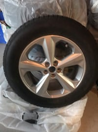 Winter tires brand new with alloy wheels Bolton, L7E 2W7