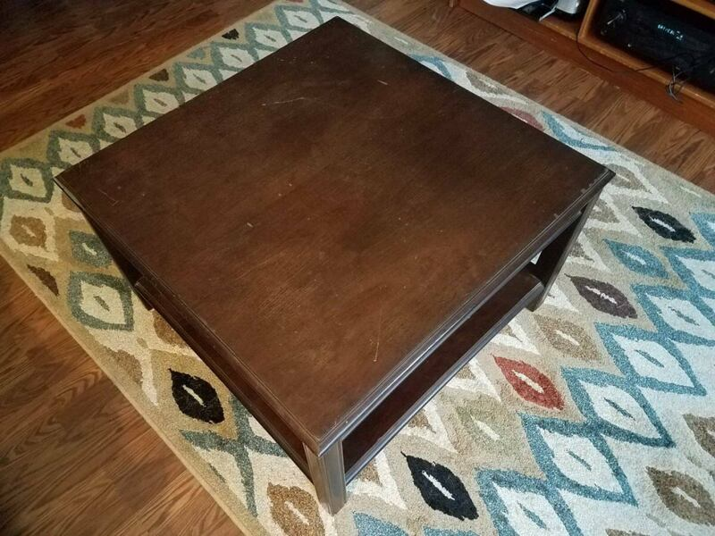 Wood Coffee Table - Will Deliver 0