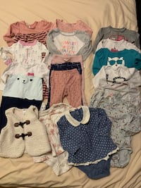 Girl's 12-18 month clothes lot