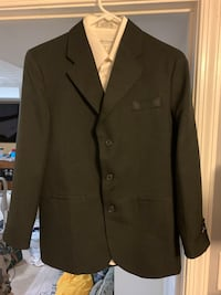 Youth Dockers Brand Sport Coat & White Shirt Size Youth 12 $10