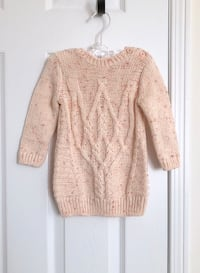 Joe fresh baby girl's long sweater size 6-12 months- worn only once Mississauga, L5M 0C5