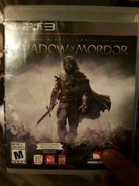 Shadow of Mordor PS4 game case Dartmouth, B3A 4C5