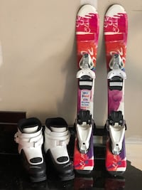 Ski and boots for kids Chantilly, 20152