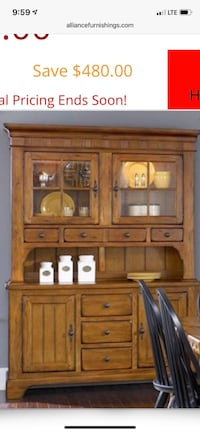 Hutch (top only)