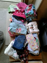 Size 4 girls clothes lot  Wilder, 41076