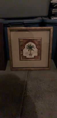 brown wooden framed painting of woman Las Vegas, 89122