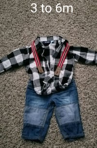 Baby boy outfit 3 to 6m