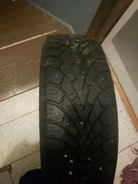 goodyear nordic winter tires  195/60r15 .