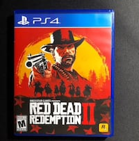 Red dead redemption 2 barely used Ottawa, K4A 0W4