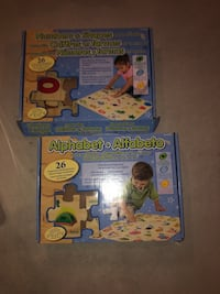 Alphabet and Number Puzzles kids  Kitchener, N2A 0H6