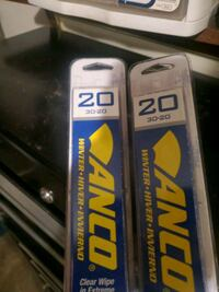 Pair of 20 inch anco wiper blades