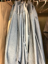 XXL men's LS denim shirts Arlington, 22201