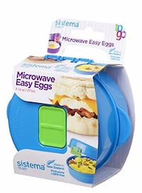Sistema Easy Eggs to Go Microwave Egg Cooker--BRAND NEW!! Winter Haven