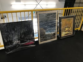 Staging pictures - All oil paintings