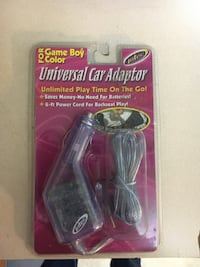 New game boy color universal car adapter  Tigard, 97223