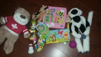 Assorted baby toys lot Brampton