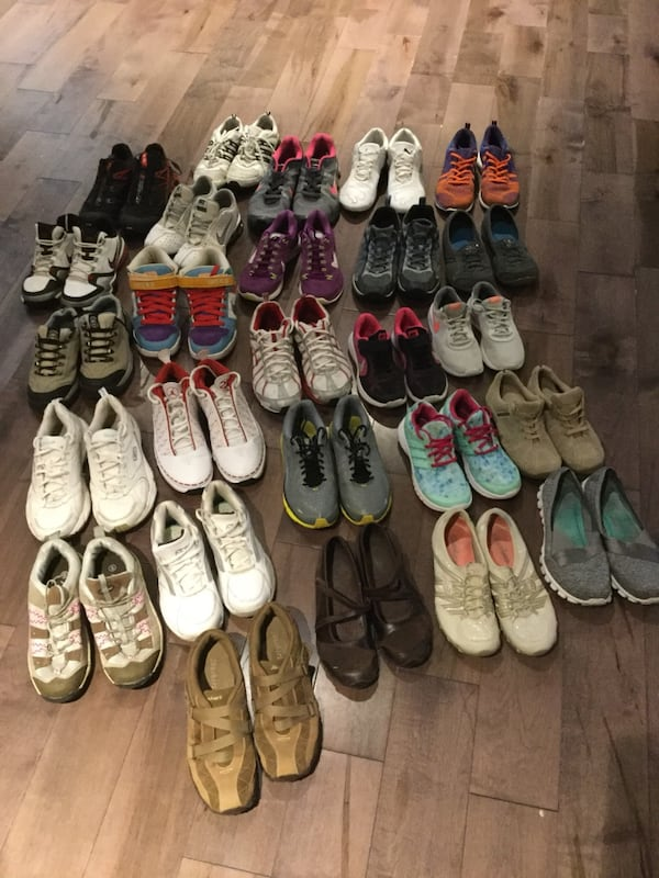 26 pairs of brand shoes Nike, puma, Reebok, Skechers, adidas,... 1