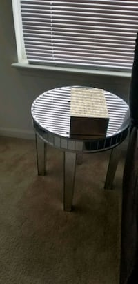 Mirrored end table  Odenton