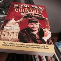 Michael Moore Dude, Where's My Country book Burlington, L7L 4C2