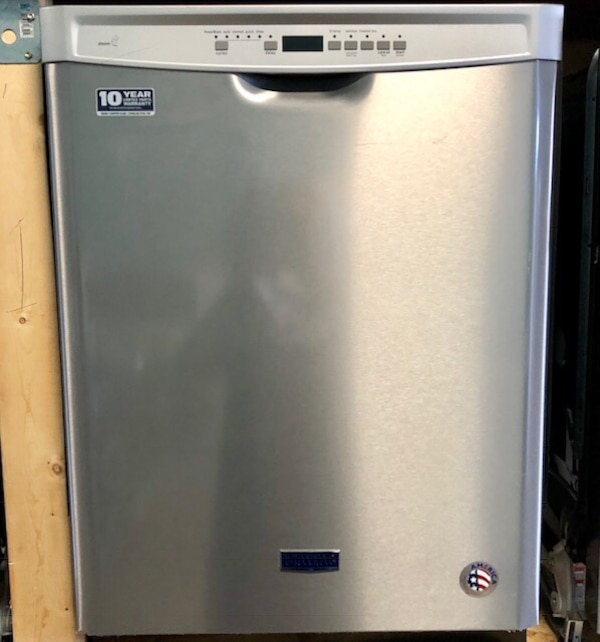 New Maytag stainless steel Dishwasher 90 days warranty  2ce712e9-b8f9-4212-9f8a-0a6cae59d7ed
