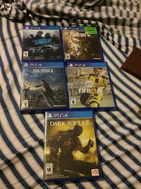 Ps4 games 16$ each Airdrie, T4A 2C7