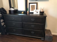 Wood 6 Drawer Dresser and Mirror Fort Lauderdale, 33304