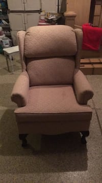 gray fabric padded glider chair Naperville, 60540