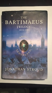 Bartimaeus Trilogy Book one, The Amulet Of Samarkand Los Angeles, 91367
