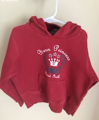 Girls size M red Barn Princess sweat shirt  Centreville, 20120