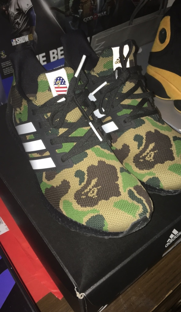 THE NEW BAPE ADIDAS COLLECTION and ULTRA BOOST!