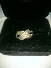 SS and Diamond ring from Kays sz 7 Rockmart, 30153