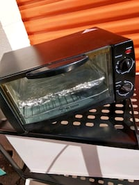 Small toster oven
