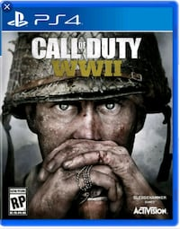 Ps4 Call of Duty WW2  North York, M3K 2C1