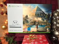 (neu) xbox one s (500 gb) + assassin's creed origins spiel