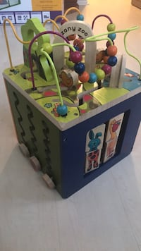 blue, green, and yellow activity cube Beaumont, 92223