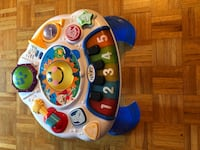 blue, white, and yellow activity table Mississauga, L5L 5T2