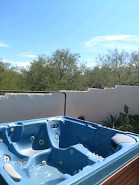 white and blue above ground pool Tucson, 85750