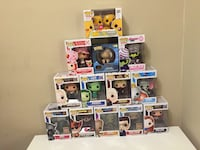 Assorted pop ! vinyl figures Winnipeg, R2H 2Z3