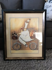 Chef On The Go by Jennifer Garant framed Germantown, 20876