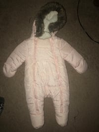Pink Nautica snow suit for baby girl (0-3 m) Manassas, 20110