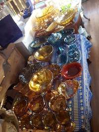 Lots of Carnival glass