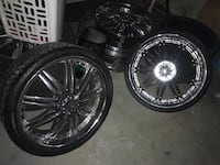 """Need Gone! Rims for sale! 22"""" & 20"""" 5 lug Orland Park, 60462"""