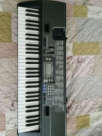 Casio 50 key black and white electronic keyboard