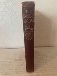 The Innocents Abroad by Mark Twain Collins' Clear-Type Press