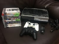 $150 today only -Sony PlayStation 3 with 10 games and 2 controllers Toronto, M4S 2B2