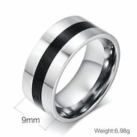 Beautiful black and silver stainless steel band Omaha, 68137