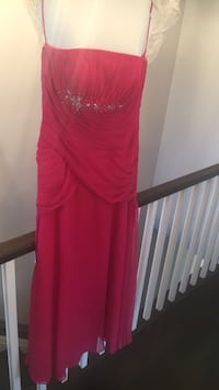 Pink bridal dress size 10 Toronto, M8W