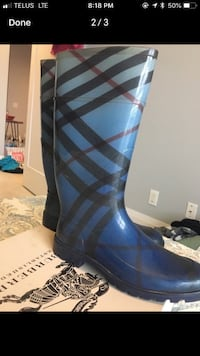 Authentic Burberry Rainboots size 41 Toronto, M2N 4Y3